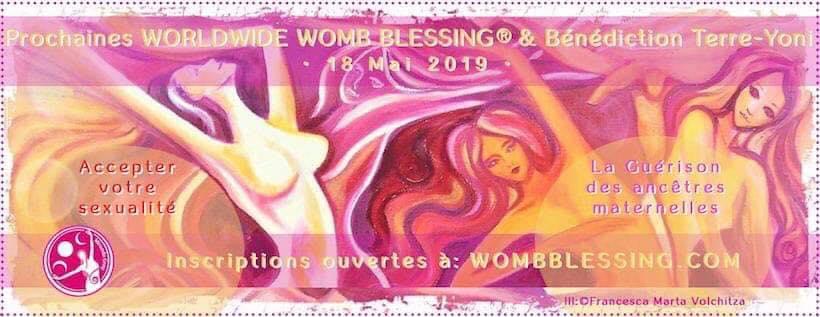 Bénédiction Mondiale de l'Utérus du 18 Mai 2019